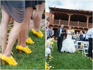 grey and yellow wedding by urban safari