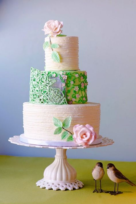 Middle Green Cake